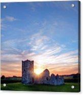 Knowlton Church - England Acrylic Print