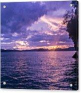 Krabi Sunset Acrylic Print