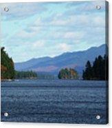 Lake Acrylic Print by Kate  Leikin