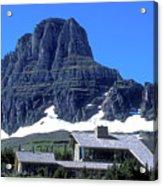 Lodge In Glacier National Park Acrylic Print