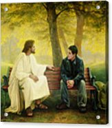 Lost And Found Acrylic Print by Greg Olsen