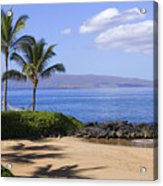 Makena, Secret Beach Acrylic Print