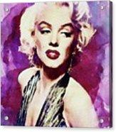 Marilyn Monroe, Actress And Model Acrylic Print