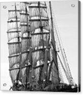 4-masted Schooner Acrylic Print