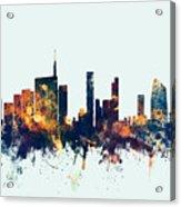 Milan Italy Skyline Acrylic Print
