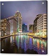 Milwaukee Wisconcin City And Street Scenes Acrylic Print