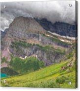 Montana-glacier National Park-grinnell Glacier Trail Acrylic Print