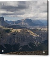 Mount Black Rock Acrylic Print
