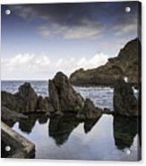 Natural Pools In Porto Moniz, Madeira Acrylic Print