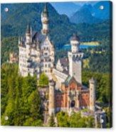 Neuschwanstein Fairytale Castle Acrylic Print