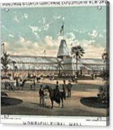 New Orleans, Fair, 1884.  Acrylic Print