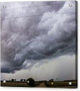 Non Severe Nebraska Thunderstorms Acrylic Print
