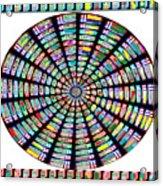 Novino Sale Fineart Chakra Mandala Round Circle Inspirational Healing Art At Fineartamerica.com By N Acrylic Print