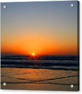 Ocean Sunrise Sunset Acrylic Print