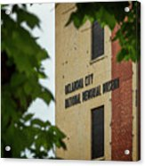 Okc Memorial Xv Acrylic Print