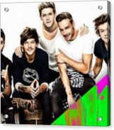 One Direction Collection Acrylic Print