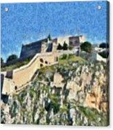 Palamidi Castle Acrylic Print