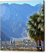 Palm Springs Welcome Acrylic Print