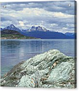 Panoramic View Of Ushuaia, Tierra Del Acrylic Print