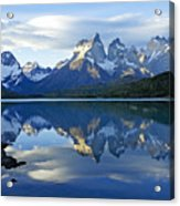 Patagonia Reflection Acrylic Print