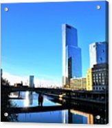 Philly Over The Schuylkill Acrylic Print