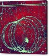 Positron Tracks Acrylic Print by Omikron