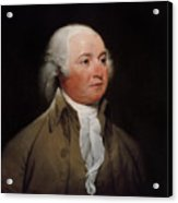 President John Adams Acrylic Print by War Is Hell Store