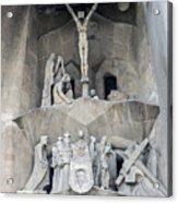 Sagrada Familia - Gaudi Designed - Barcelona Spain Acrylic Print