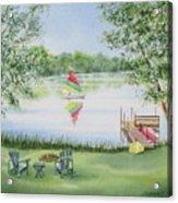 4 Seasons-summer Acrylic Print