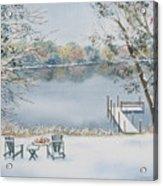 4 Seasons-winter Acrylic Print