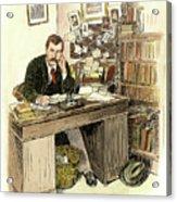 Sir Arthur Conan Doyle Acrylic Print