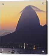 Sugarloaf Mountain, Rio De Janeiro, Brazil Acrylic Print