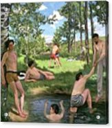 Summer Scene  Acrylic Print