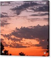Sunset Moreno Valley Ca Acrylic Print