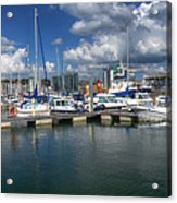 Sutton Harbour Plymouth Acrylic Print
