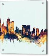 Sydney Australia Skyline Acrylic Print