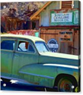 Techatticup Mine Ghost Town Nv Acrylic Print
