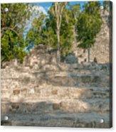 The Church At Grupo Coba At The Coba Ruins  Acrylic Print