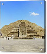 The Famous Pyramid Of The Moon Acrylic Print
