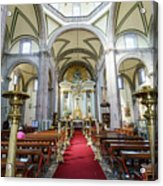 The Historical Mexico City Metropolitan Cathedral Acrylic Print