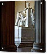The Lincoln Memorial Acrylic Print
