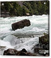 The Niagara River Acrylic Print