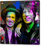 The Rolling Stones Acrylic Print