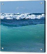 The Blue Sea Acrylic Print