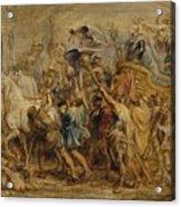 The Triumph Of Henry Iv Acrylic Print