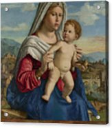 The Virgin And Child Acrylic Print