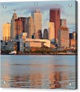 Toronto Sunrise Acrylic Print