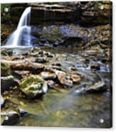 Upper Falls Holly River State Park Acrylic Print