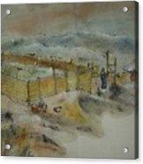 Van Gogh In Chinese Style Album Acrylic Print
