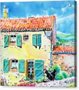 View Of Luberon Acrylic Print
